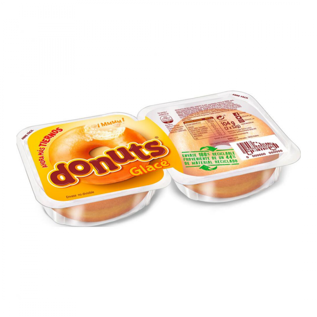 Donuts Glace 2 unidades